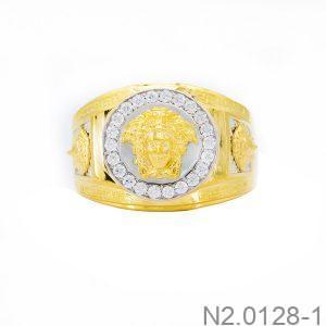 Nhẫn Nam Versace Vàng Vàng 18k - N2.0128-1