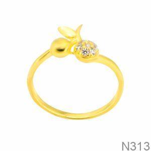 Nhẫn Nữ Vàng 18K Đính Đá CZ - N313