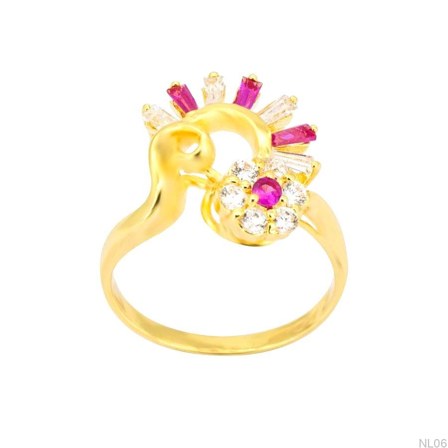 Nhẫn Nữ Vàng 18K Đính Đá CZ - NL06