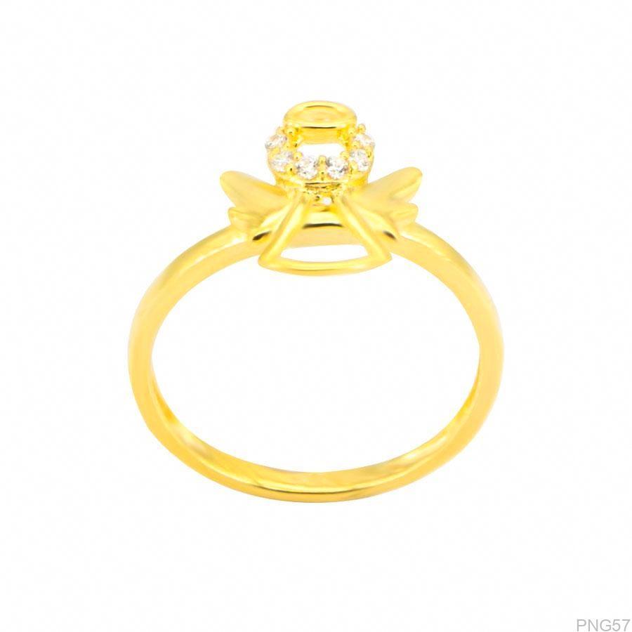 Nhẫn Nữ Vàng 18K Đính Đá CZ - PNG57