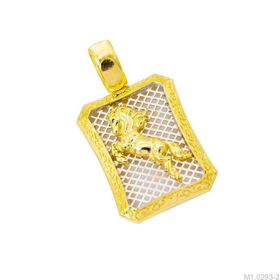 M1.0293-2-2 mặt dây chuyền nam vàng 10k phi mã