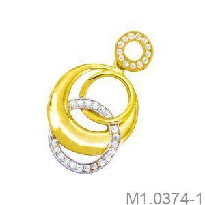 Mặt Dây Chuyền Vàng 10k - M1.0374-1