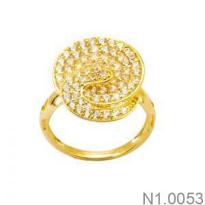 Nhẫn Nữ Vàng 18K Đính Đá CZ - N1.0053