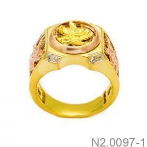 Nhẫn Nam Đại Bàng Vàng 10k - N2.0097-1