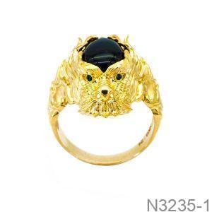 Nhẫn Nam Rồng Vàng 18k - N3235-1