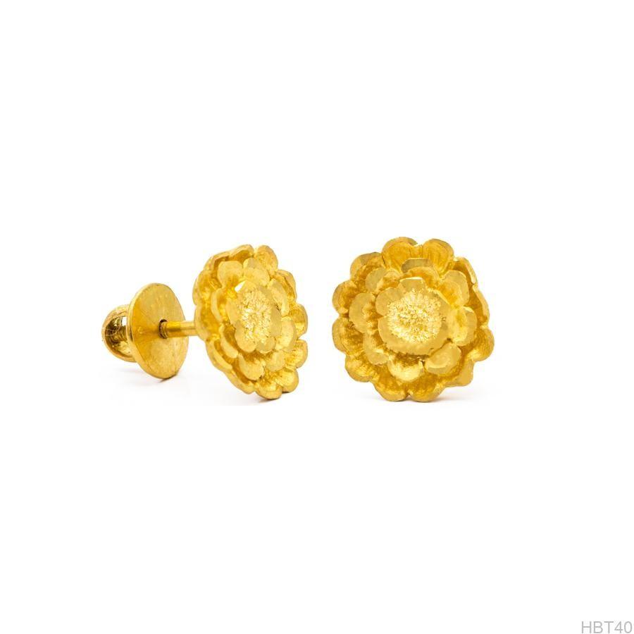 Bông Tai Cưới Vàng 24k - HBT40