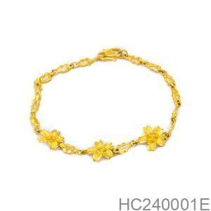 Lắc Tay Cưới Vàng 24k - HC240001E