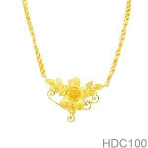 Dây Chuyền Cưới Vàng 24k - HDC100