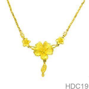 Dây Chuyền Cưới Vàng 24k - HDC19