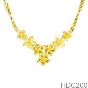 Dây Chuyền Cưới Vàng 24k - HDC200