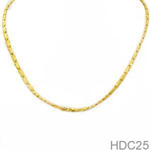 Dây Chuyền Cưới Vàng 24k - HDC25
