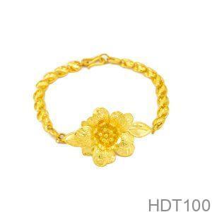 Lắc Tay Cưới Vàng 24k - HDT100