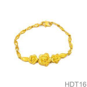 Lắc Tay Cưới Vàng 24k - HDT16