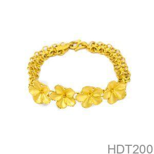 Lắc tay cưới vàng 24k HDT200 APJ