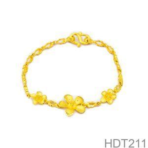 Lắc Tay Cưới Vàng 24k - HDT211