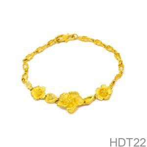 Lắc Tay Cưới Vàng 24k - HDT22