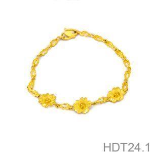 Lắc Tay Cưới Vàng 24k - HDT24.1