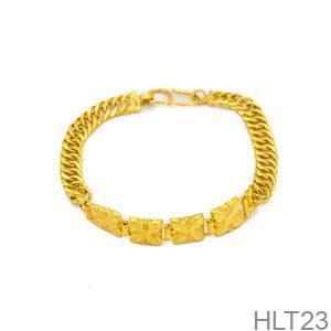 Lắc Tay Cưới Vàng 24k - HLT23