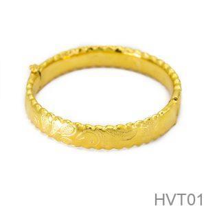 Vòng Tay Cưới Vàng 24k - HVT01