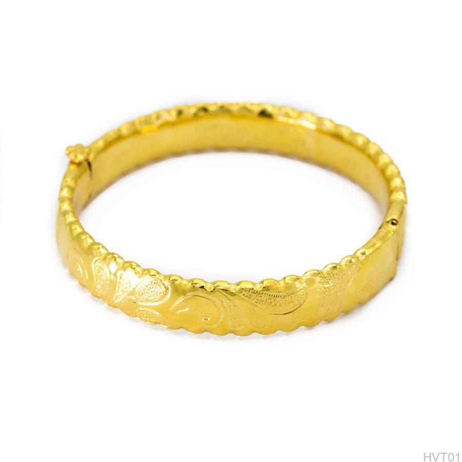 Vòng tay cưới vang 24k HVT01 APJ