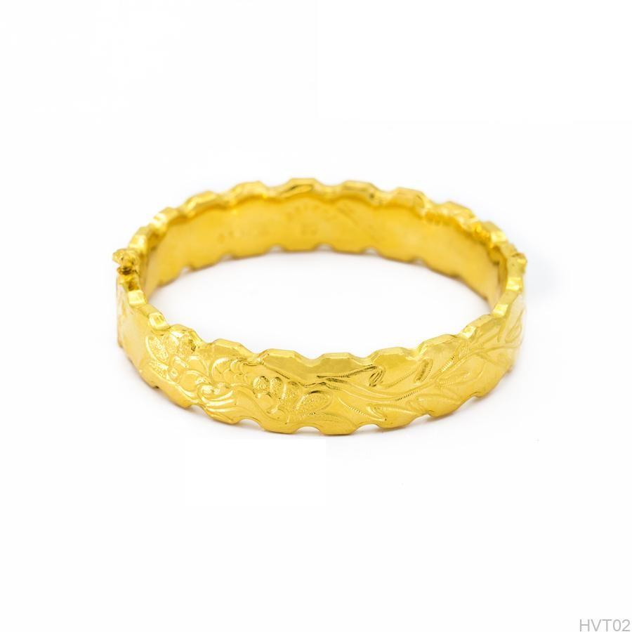 Vòng Tay cưới APJ Vàng 24k - HVT02 1
