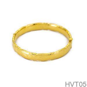 Vòng Tay Cưới Vàng 24k - HVT05