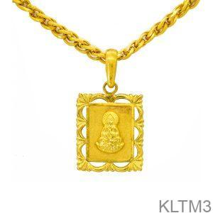 Mặt Dây Chuyền Cưới Vàng 24k - KLTM3