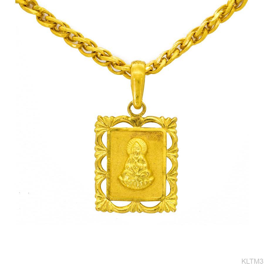 Dây chuyền vàng cưới mặt phật