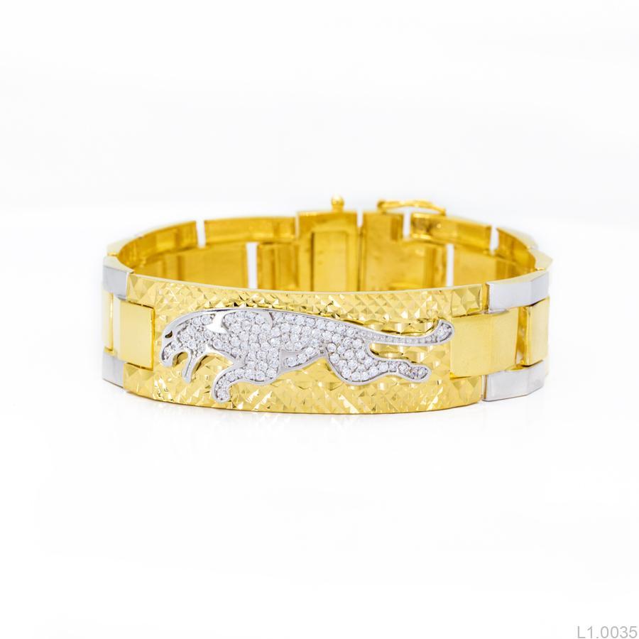 Lắc Tay APJ Vàng 10k - L1.0035