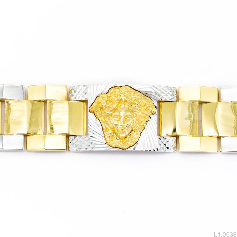 Lắc Tay Nam Versace APJ Vàng 10k - L1.0038 a