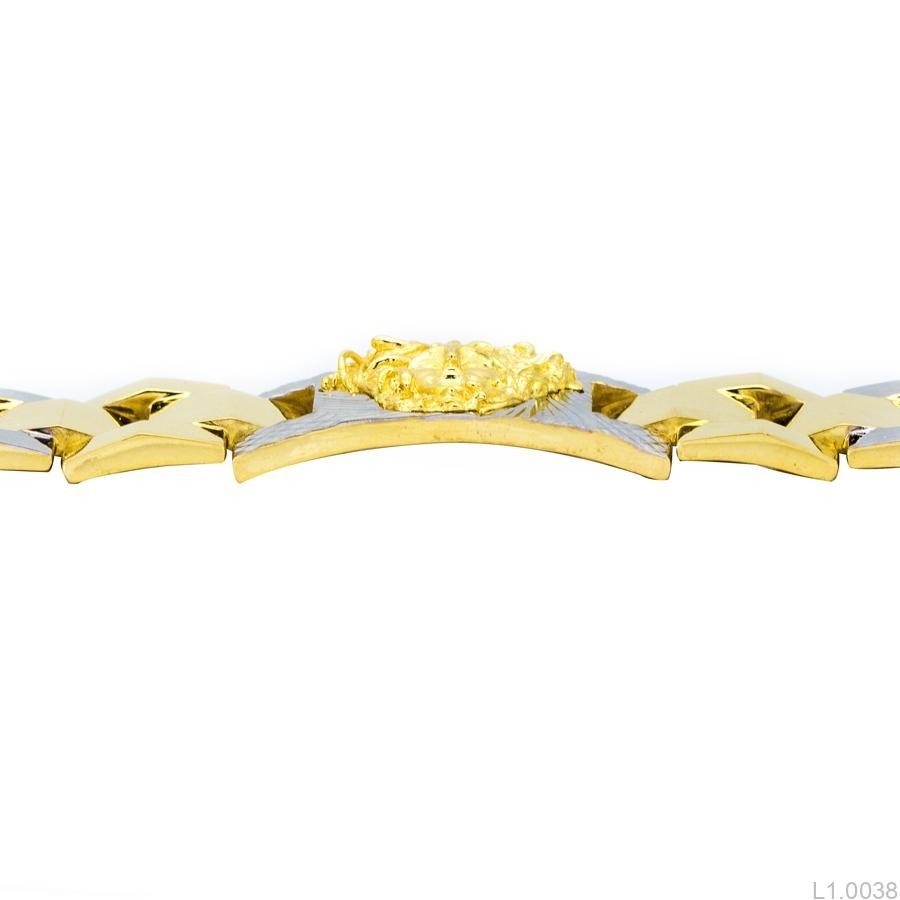 Lắc Tay Nam Versace APJ Vàng 10k - L1.0038 b