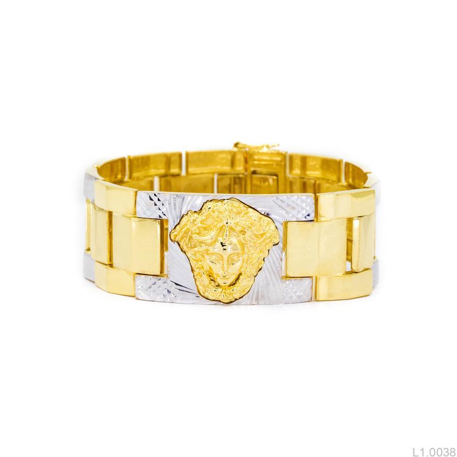 Lắc Tay Nam Versace APJ Vàng 10k - L1.0038