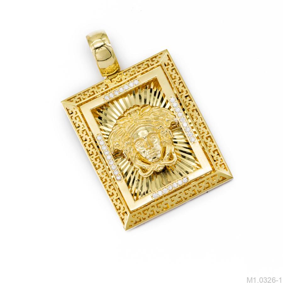Mặt Dây M1.0326.1 Mặt Dây Chuyền Nam Vàng 10K Biểu Tượng 2Nam Vàng 10K – M1.0326-1