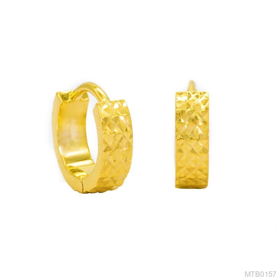Bông Tai Vàng 18K - MTB0157