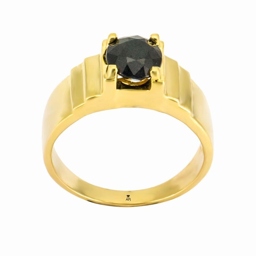 Nhẫn Kiểu Nam APJ Vàng 18k - MTN0617-1