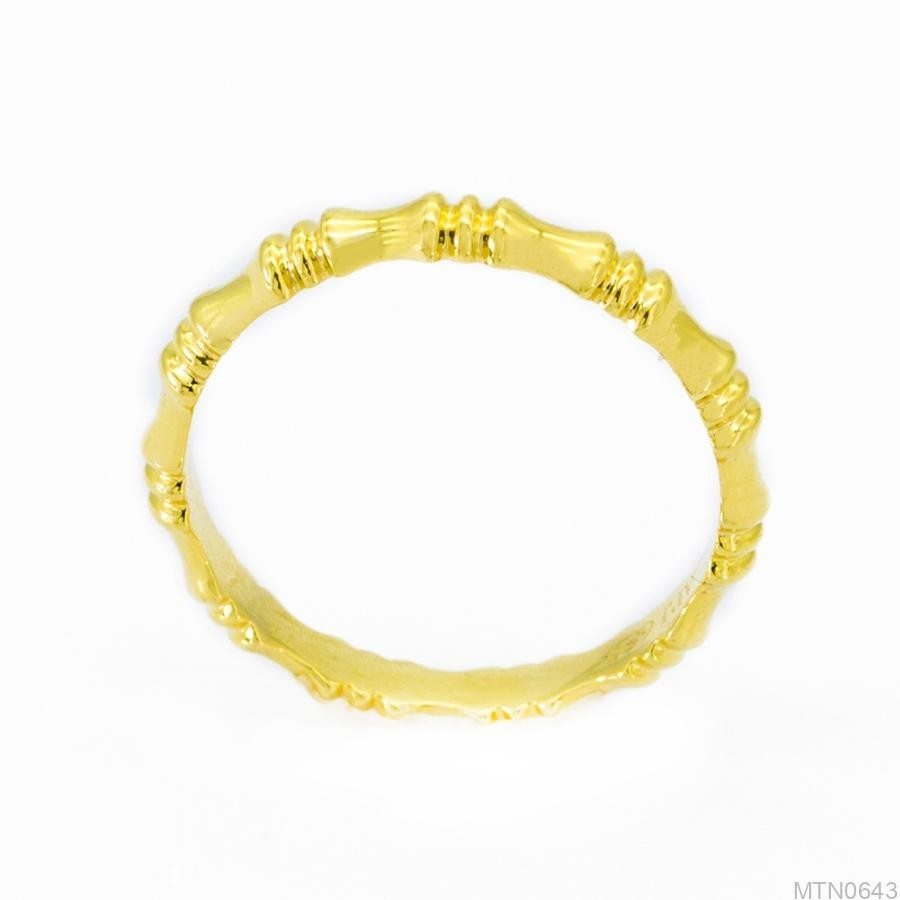 Nhẫn Kiểu Nữ APJ Vàng 18k - MTN0643