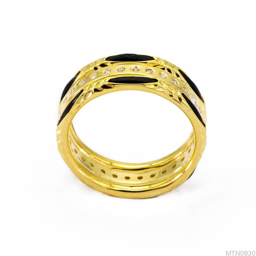 Nhẫn Nữ Vàng 18K Đính Đá CZ - MTN0930