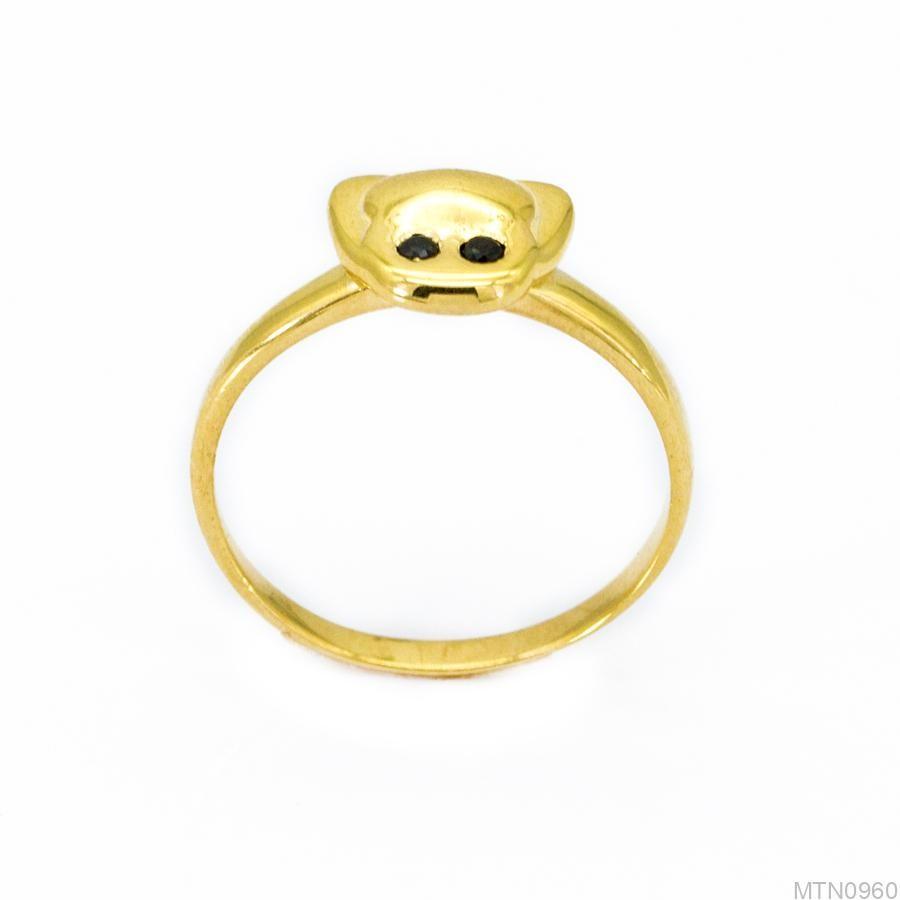 Nhẫn Kiểu Nữ Vàng 18k - MTN0960