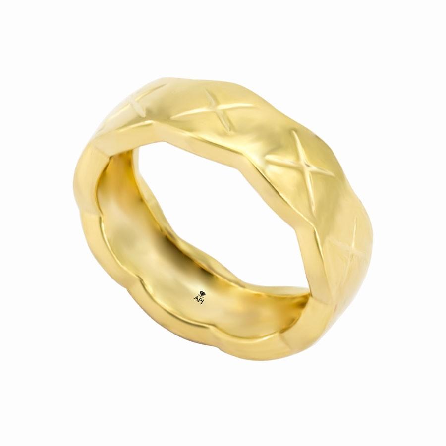 Nhẫn Kiểu Nữ APJ Vàng 18k - MTN1029