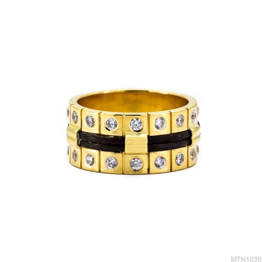 Nhẫn Nam Lông Voi APJ Vàng 18k - MTN1030 2
