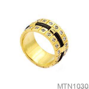 Nhẫn Nam Lông Voi Vàng Vàng 18k - MTN1030