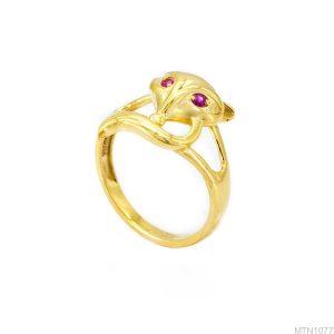 Nhẫn Nữ Vàng 18K Đính Đá CZ - MTN1077