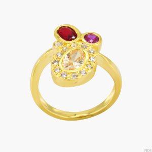 Nhẫn Kiểu Nữ APJ Vàng 18k - N04