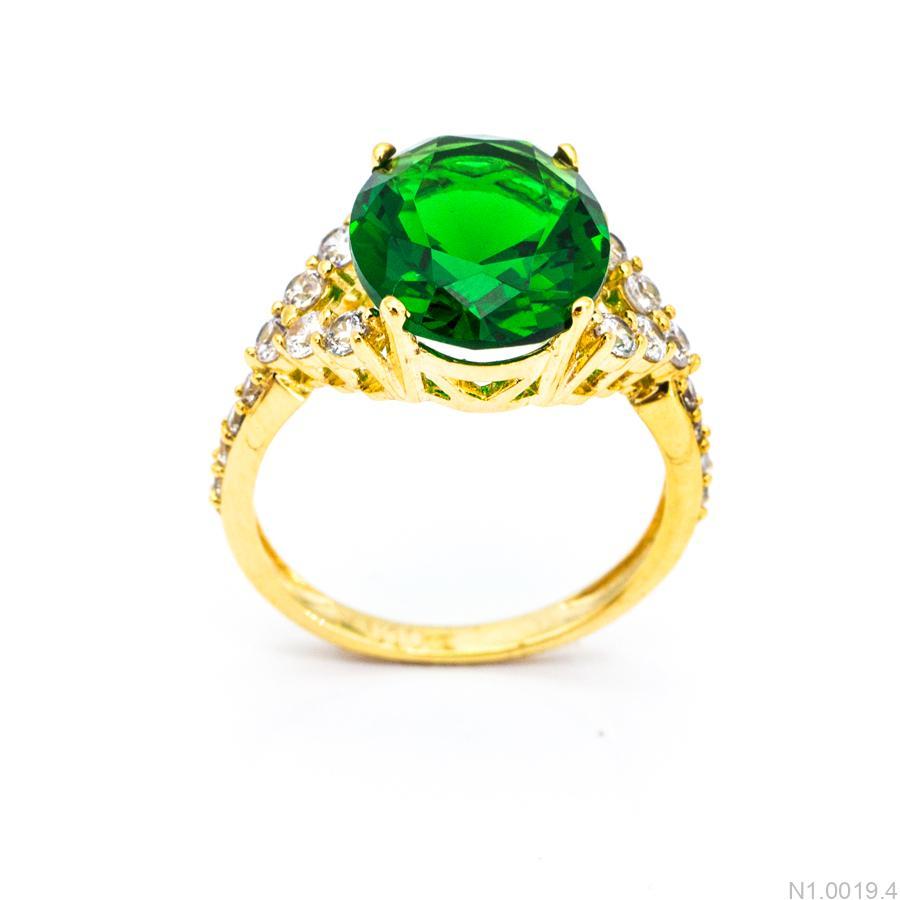 Nhẫn Nữ Vàng 18K Đính Đá CZ - N1.0019.4