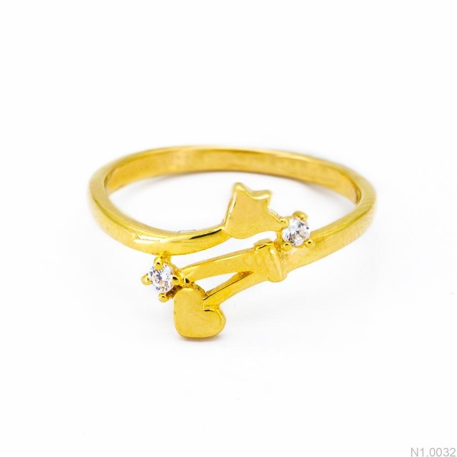 Nhẫn Kiểu Nữ Vàng 18k - N1.0032