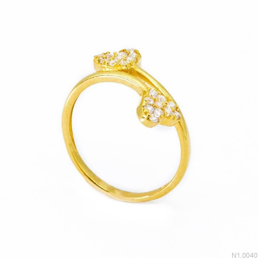 Nhẫn Kiểu Nữ Vàng 18k - N1.0040