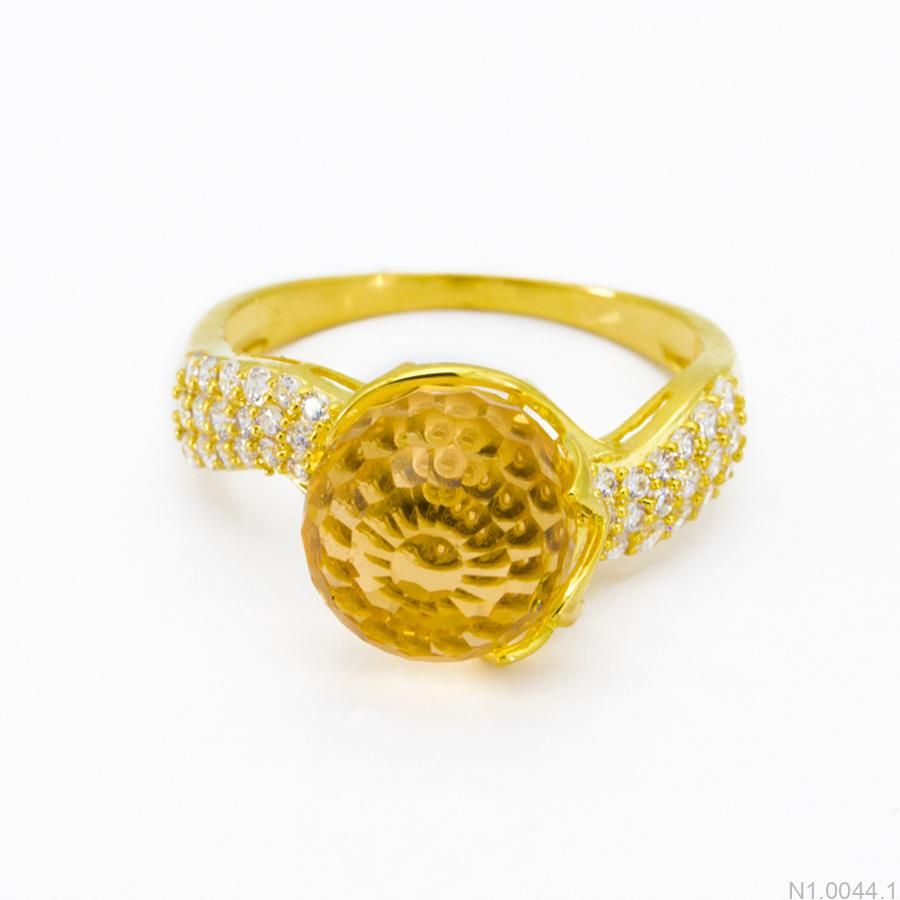Nhẫn Kiểu Nữ Vàng 18k - N1.0044.1
