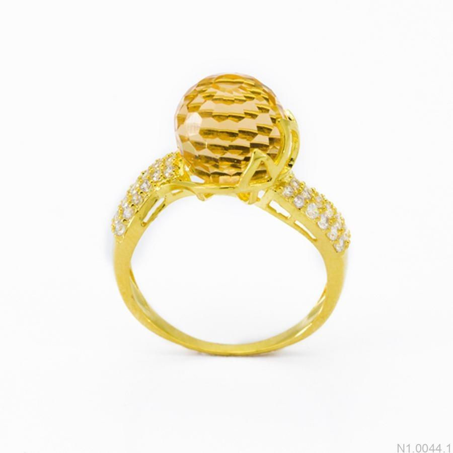 Nhẫn Nữ Vàng 18K Đính Đá CZ - N1.0044.1