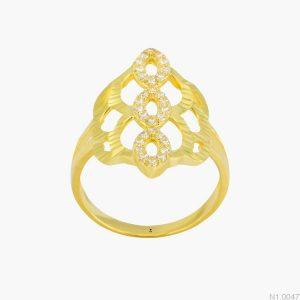 Nhẫn Kiểu Nữ APJ Vàng 18k - N1.0047