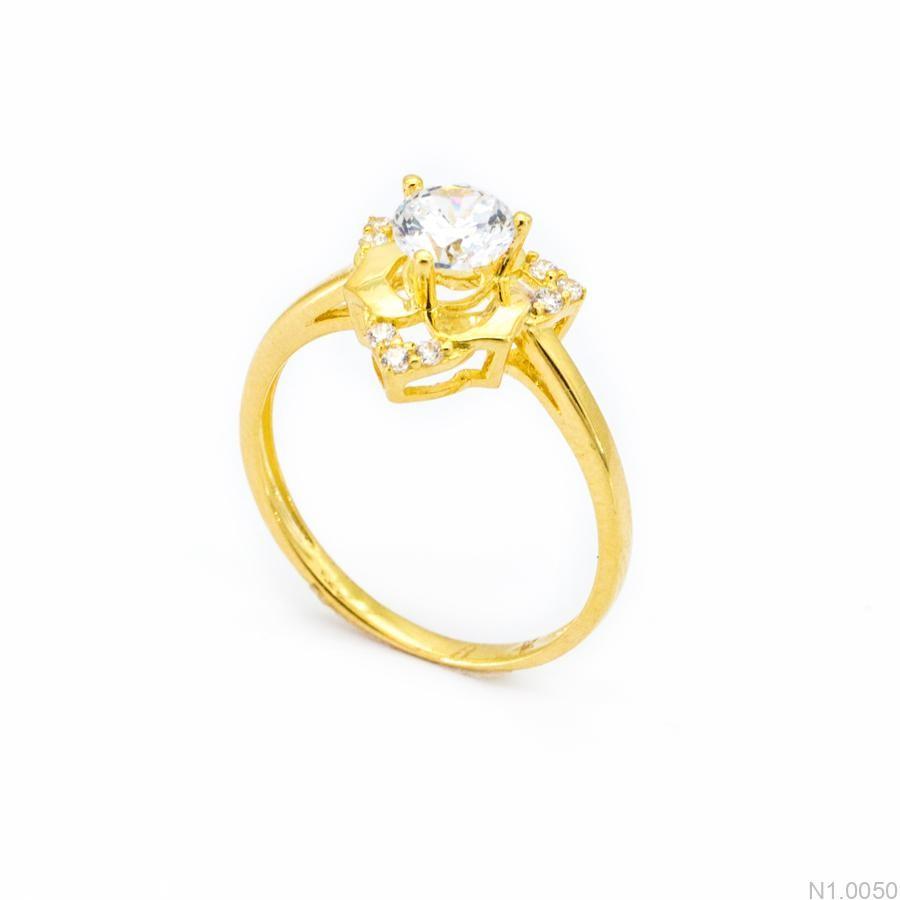 Nhẫn Kiểu Nữ Vàng 18k - N1.0050